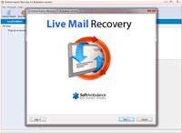 SoftAmbulance Live Mail Recovery screenshot medium