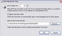 Test Mail Server Tool
