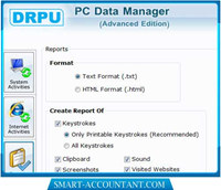 Keylogger Software with Screen Capture