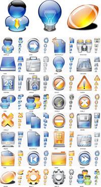 web icons Lumina style
