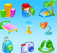 Vector Travel Icons screenshot medium
