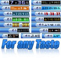 Desktop Tray Clock