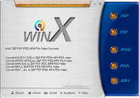 WinX IPOD 3GP PSP PDA MP4 Video Converter