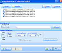 Akram Audio Converter screenshot medium