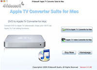 4Videosoft Mac Apple TV Converter Suite