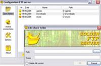 Golden FTP server