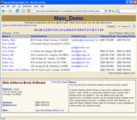 A Handy Address Book Server