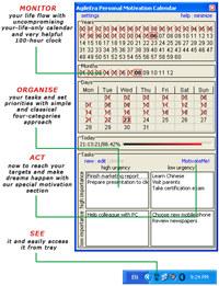 Personal Motivation Calendar