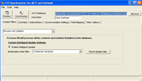123 Sync Client for ACT and Outlook screenshot medium