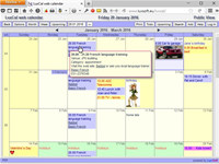 LuxCal Web Based Event Calendar MySQL