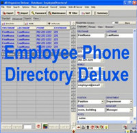 Employee Phone Directory Deluxe