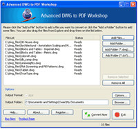 Advanced DWG to PDF Workshop