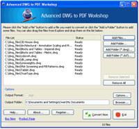 Advanced DWG to PDF Workshop