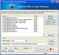 Advanced DWG to Image Workshop