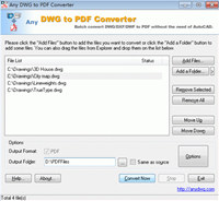 DWG to PDF Converter DWG screenshot medium