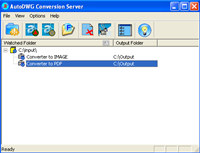 Smart DWG to PDF Conversion Server screenshot medium