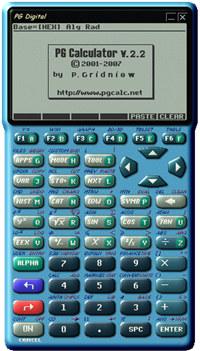 PG Calculator (Second Edition)