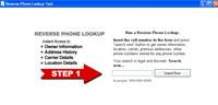 Reverse telephone numbers lookup 1.0