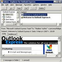 Speaking Explorer for Outlook Express