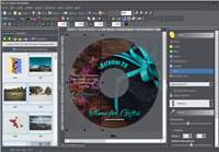 CD Label Designer screenshot medium