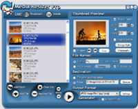 Media Resizer thumbnail creator screenshot medium