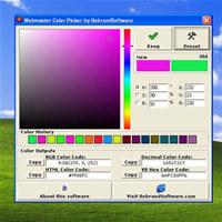 Webmaster Color Picker