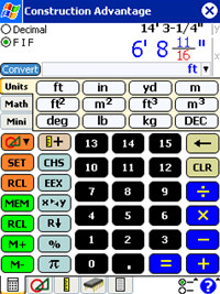 Construction Advantage Calculator screenshot medium