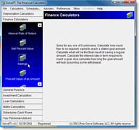 SolveIT, Over 40 Financial Calculators