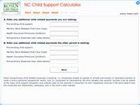 North Carolina Child Support