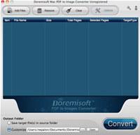 Doremisoft Mac PDF to Image Converter