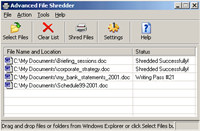Advanced File Shredder