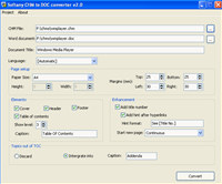 Softany CHM to DOC Converter screenshot medium