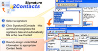 Signature2Contacts for Outlook