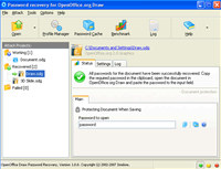 OpenOffice Draw Password Recovery