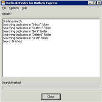 Duplicate Finder for Outlook Express