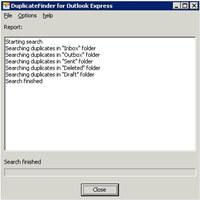Duplicate Finder for Outlook Express