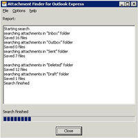 Attachment Finder for Outlook Express