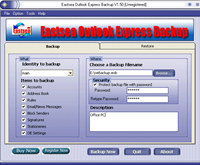 Eastsea Outlook Express Backup
