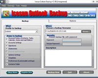 Icesun Outlook Backup