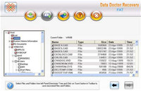 PDD Windows FAT Data Recovery screenshot medium