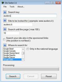 Site Seeker screenshot medium