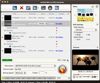 ImTOO MP4 to DVD Converter for Mac screenshot medium
