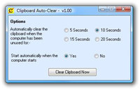 Clipboard Auto Clear