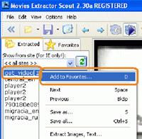 Movies Extractor Scout screenshot medium