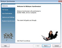 Slicksync IE and Windows Mail Synchronizer Basic