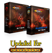 WoW Power Leveling Package