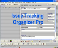Issue Tracking Organizer Pro