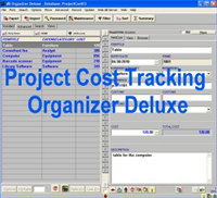 Project Cost Tracking Organizer Deluxe screenshot medium