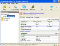 PowerPoint Password Recovery screenshot medium