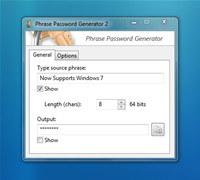 Phrase Password Generator
